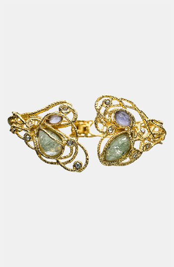 Bracelet by Alexis Bittar makes me excited for Cubic Zirconia again.