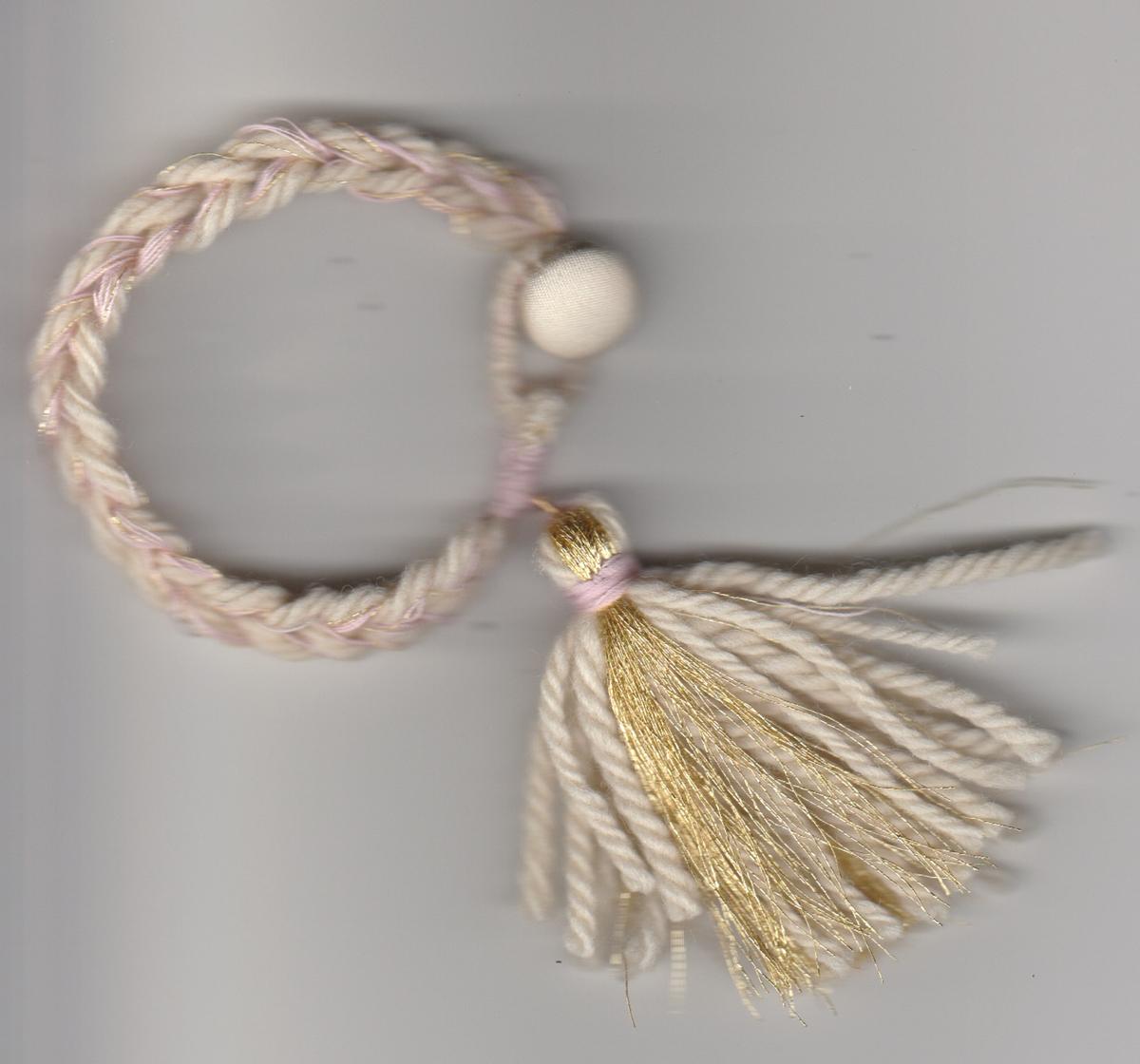 chain-tassel-bracelet-pink